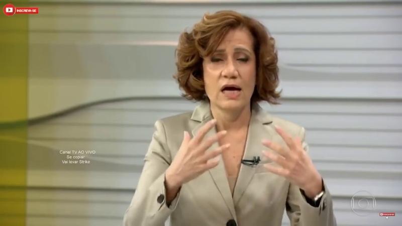 COMUNISTA Miriam Leitão no Bom Dia Brasil afirma que PT é democratico e Bolsonaro um risco