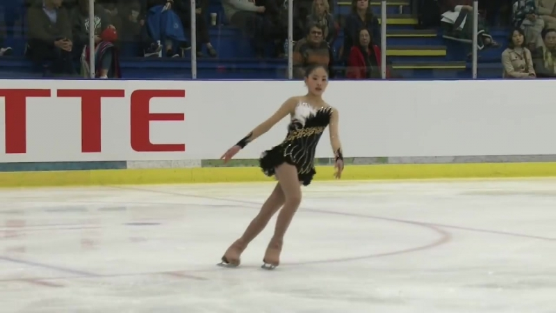 Rion Sumiyoshi (JPN) _ Ladies Free Skating _ Richmond 2018
