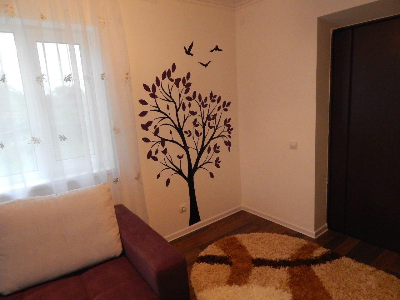 фото наклейка дерево с птицами отзыв клиентов