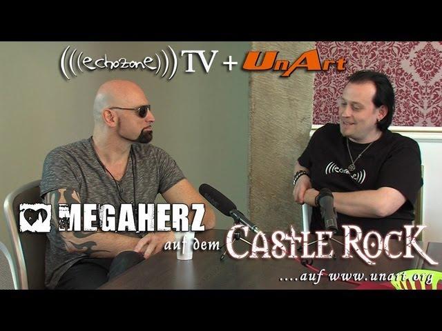UnArt Live TV - Interview mit Megaherz auf dem Castle Rock Festival 2013