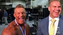 Jay to Flex Maybe you can compete in both Mr Olympia? EXCLUSIVE BACKSTAGE FOOTAGE