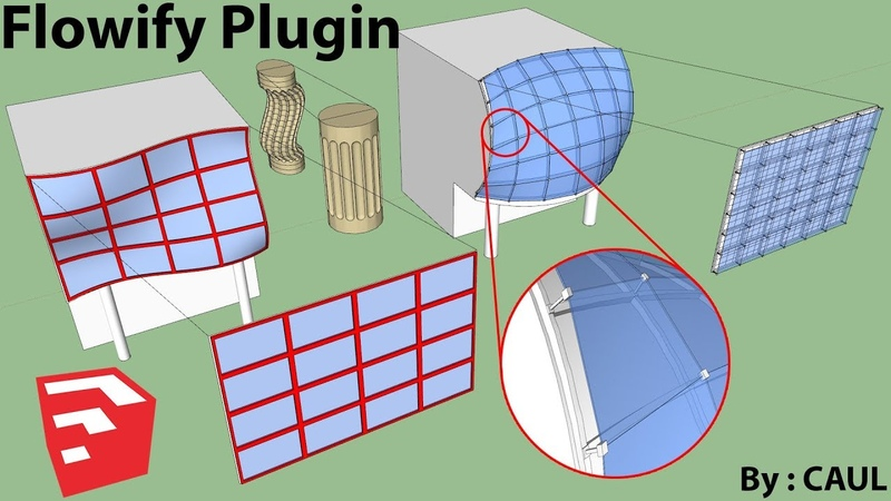 How To Use Flowify Plugin Sketchup
