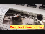 Two heads eco-solvent printer