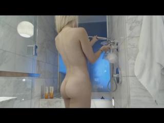 Haley Ryder - Shower Orgasm (720p) [Amateur, Teen, Big Tits, Solo, Masturbation, Bathroom, Shower]