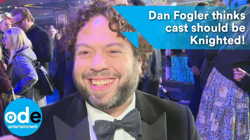 Dan Fogler thinks Eddie Redmayne and Jude Law should be Knighted!