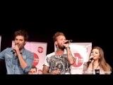 MFM Radio Live - M Pokora et la troupe de Robin des Bois