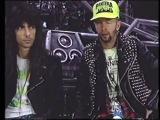 Rob Halford &amp Scott Travis Interview 1990 - Judas Priest Painkiller Tour Rehearsals
