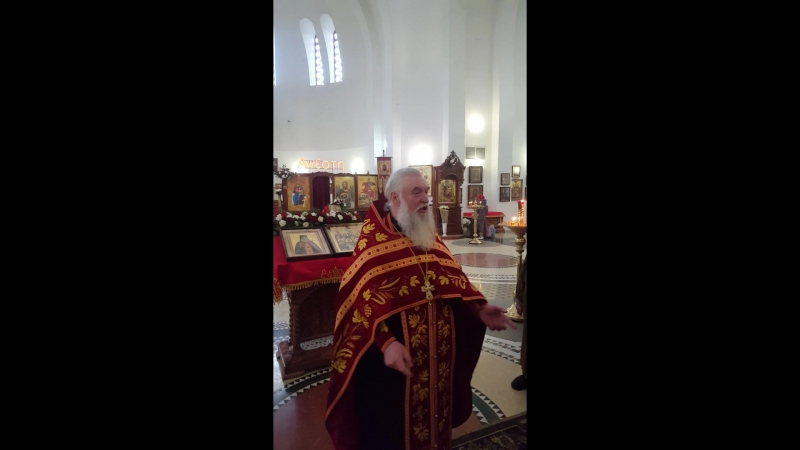 Проповедь протоиерея Геннадия Макаренко Воскресенье неделя 3 я по Пасхе свв жен мироносиц