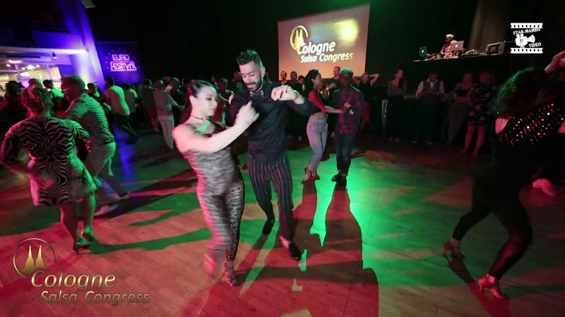 Panagiotis Ezgi Zaman - social dancing @ Cologne Salsa Congress 2019
