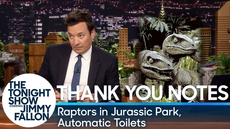 Thank You Notes: Raptors in Jurassic Park, Automatic Toilets