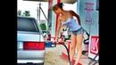 Как заправится бензином девушке Мега приколы ржачь полный
