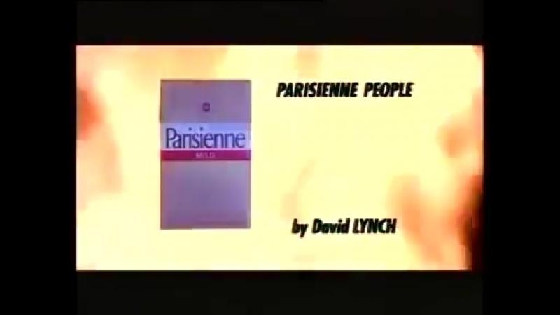 Parisienne Cigarettes: David Lynch's Wacky Cigarette Ad