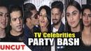 TV Celebrities At The Club Launch Yazu Pan Asian Supper Club Karan Patel Karishma Tanna