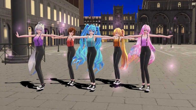 [MMD] Stole my heart (models-motions-stage)DL
