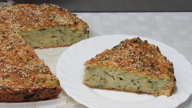 Очень КАПУСТНЫЙ ПИРОГ - Рецепт проще простого Cabbage pie.