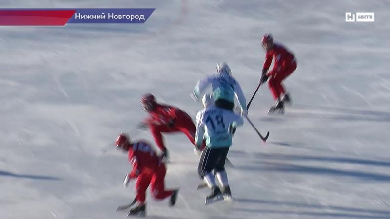 Нижегородский ХК Старт одержал убедительную победу над ХК Байкал-Энергия
