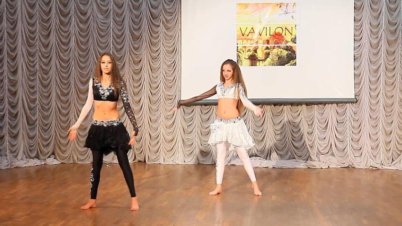 дуэт Школа Восточного Танца Шейх Али Маргариты