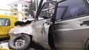 По Кургану провезли искореженный автомобиль в память о жертвах ДТП