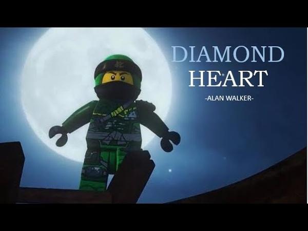 Ninjago tribute diamond heart