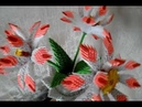 Модульное оригами,цветы/ Modular origami, flowers (V20)