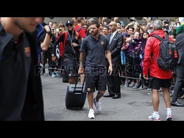 The Journey of Lionel Messi to Washington/Путешествие Лионеля Месси в Вашингтон