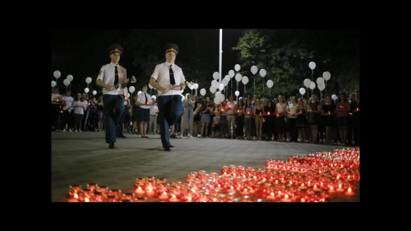 Свеча памяти ко дню борьбы с терроризмом