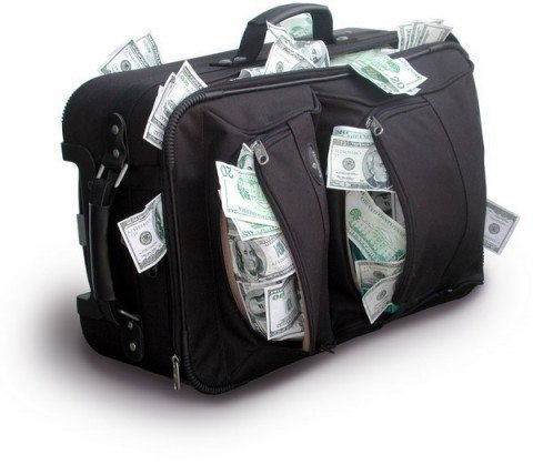 чемодан денег фото