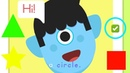 Shapes Song for Kids - Nursery Rhymes