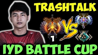 Inyourdream Top1 MMR vs 2K MMR + Trash Talker   Battle Cup 3 Games