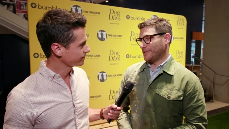Adam Pally Talks About Working With Furry Co-Stars - Dog Days Interview