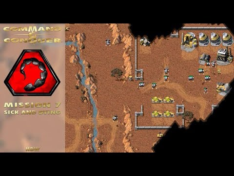 Command Conquer Tiberian Dawn - Nod Mission 7 - Sick And Dying (Cameroon) [720p]