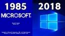 Evolution Of Windows Startup 1985 - 2018