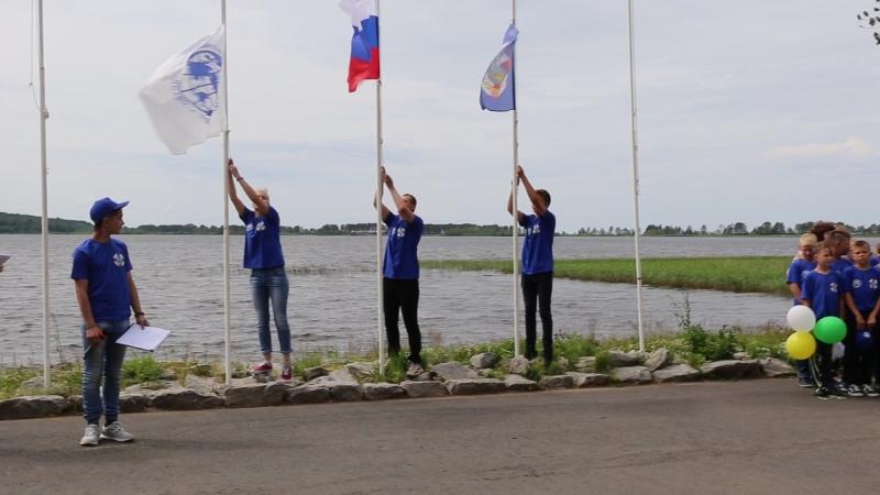 Открытие смены Школа путешествий в Корабелах Прионежья