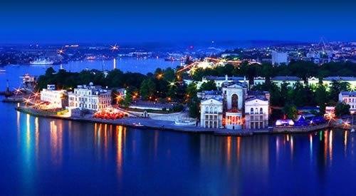 Вечерний Севастополь. Артбухта