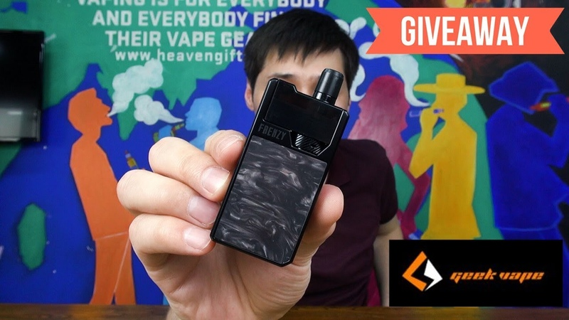 The FRENZY 950MAH Pod Kit by Geek Vape | Unboxing Giveaway