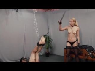A painful bastinado by mistress anette
