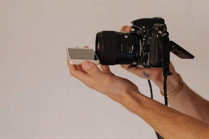 Простой трюк для эффектных фотографий