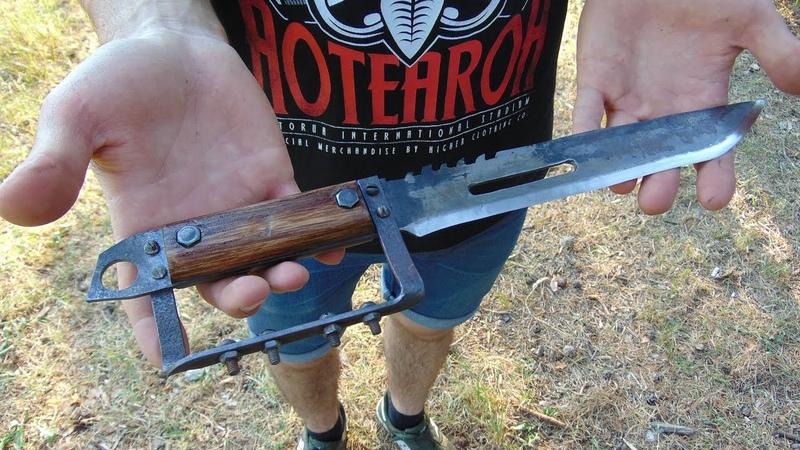 Настоящий нож из игры METRO 2033 своими руками