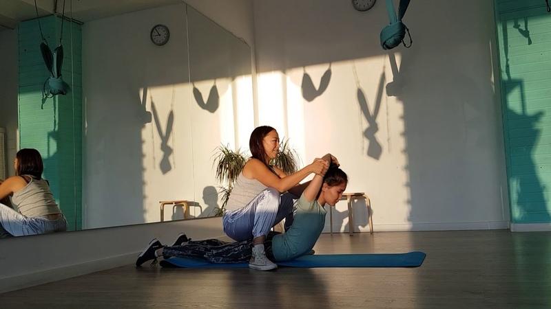 Студия ILOVEFIT   Персональная тренировка по улучшению гибкости