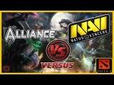 Navi vs Alliance (Alliance vs NaVi) Starladder 7 Dota 2 (RUS) №1