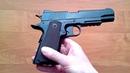 Пневматический пистолет Gunter P1911 (обзор, отстрел по скорости и кучности, цена)