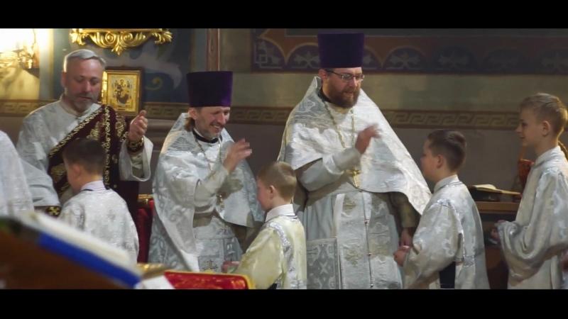 Пасха 2018 Свято Варваринский Собор