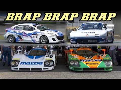 Mazda Rotary idle special - 787b, 767b, rx-792, RX-8, RX-3, 3 sedan 20b, ...
