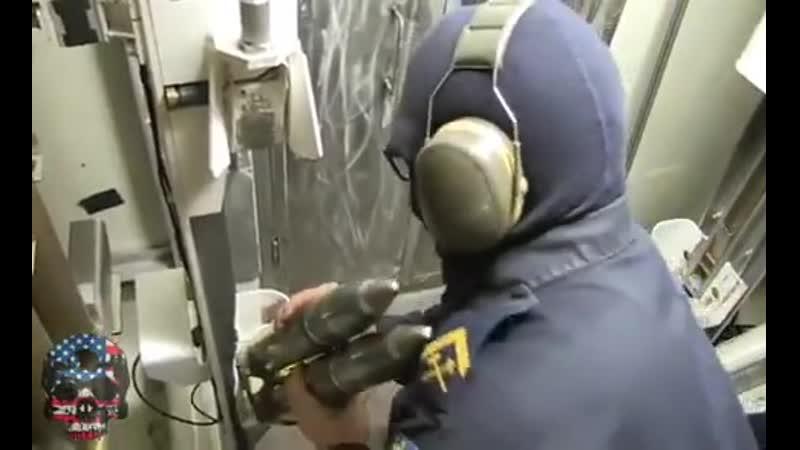 Bofors 57mm💀 The Swedish dont fuck around