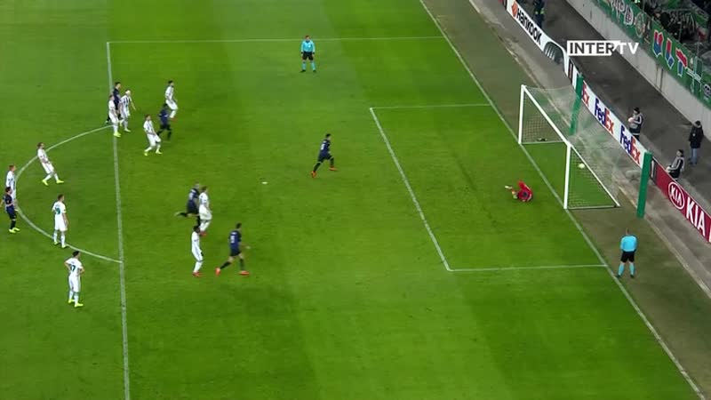 14.02.2019 Rapid 0-1 Inter, Europa League, 1/16 di finale