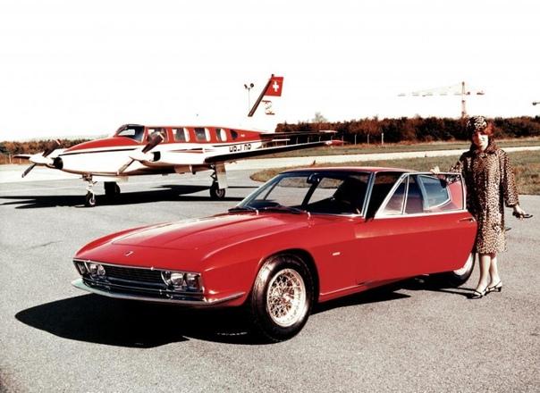 Monteverdi High Speed 375S Frua  швейцарский спортивный автомобиль