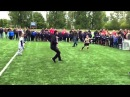 Robin Van Persie crazy freestyle VS. kids - Child abuse at its finest