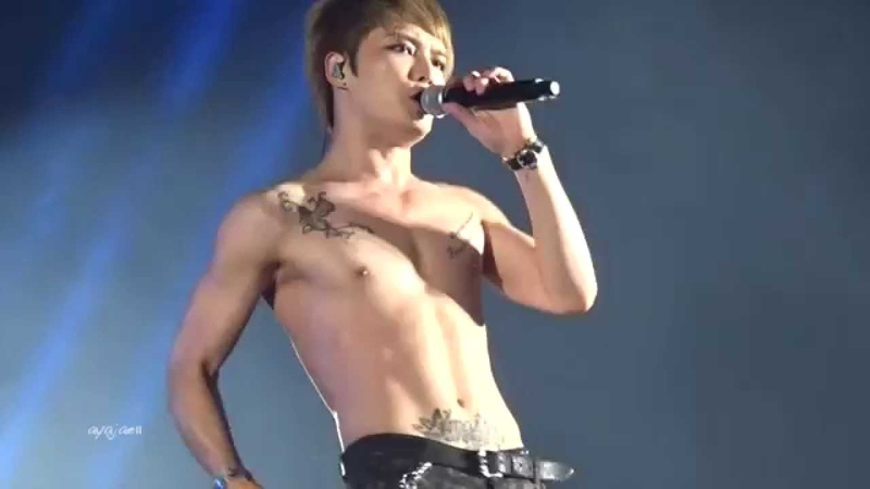 140925 JYJ in BK Jaejoong solo Mine