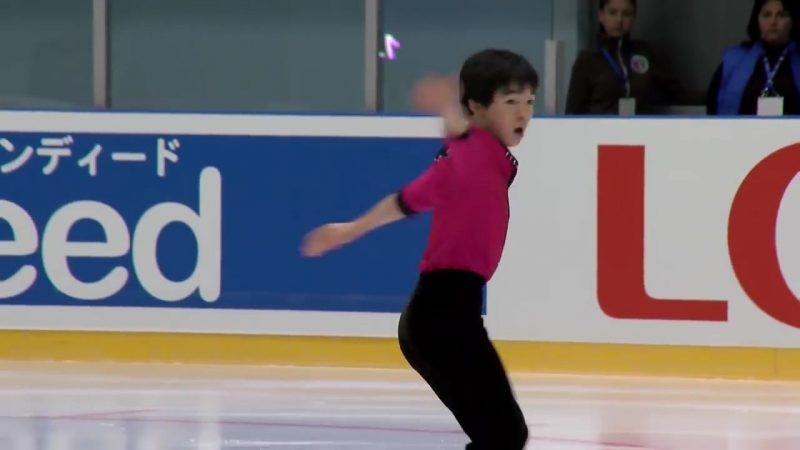 Yuma Kagiyama (JPN) _ Men Short Program _ Yerevan 2018