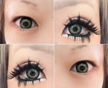 Как сделать глаза огромным